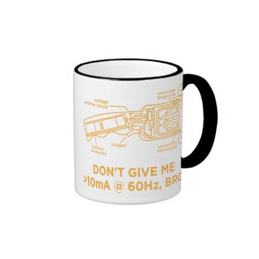 Don't Tase Me with Science Bro Mug