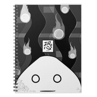 Don't tear off my pages! notebook