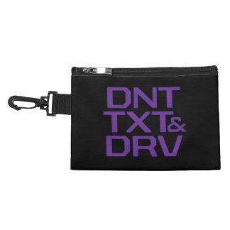 Don't Text and Drive Accessory Bag