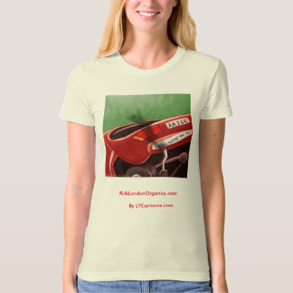Dont Text & Drive Organic GMO-Free Womens Tee