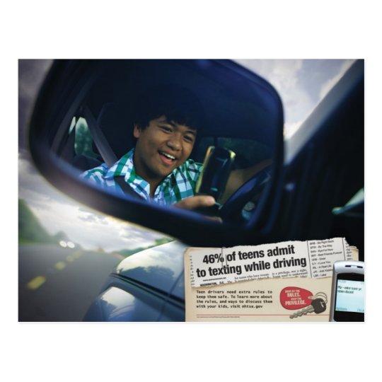 Don't Text & Drive Postcard