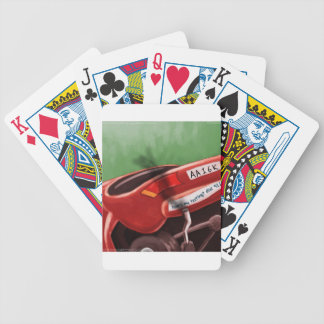 Dont Text & Drive Rick London Funny Bicycle Playing Cards