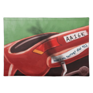 Dont Text & Drive Rick London Funny Placemat