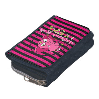 Don't think of a pink elephant wallet