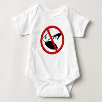 Don't Touch Caterpillars (1), Sign, California, US Baby Bodysuit