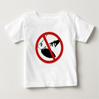 Don't Touch Caterpillars (1), Sign, California, US Baby T-Shirt