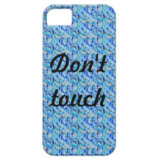 Don't Touch Glitch Case iPhone 5 Case