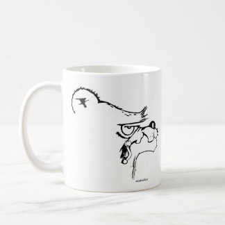 Don't Touch! Classic White Coffee Mug