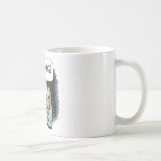 DONT TOUCH MY JUNK CLASSIC WHITE COFFEE MUG