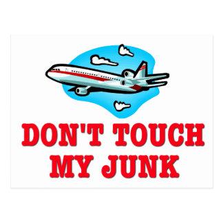 Don't Touch My Junk TSA Postcard