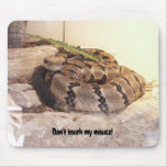 Don't touch my mouse! mouse mats