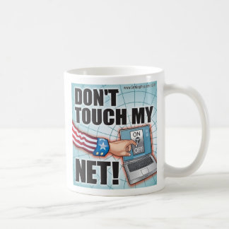 Don't Touch My NET! Mugs