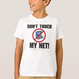 Don't Touch My NET! (slash) kids T-Shirt