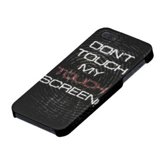 Dont touch screen iPhone SE/5/5s cover