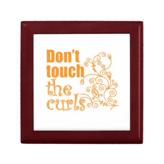 Don't Touch the Curls! Gift Box