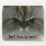 Don't touch the mouse! mouse pad