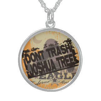 Don't Trash Joshua Tree Sterling Silver Necklace