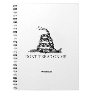 Don't Tread 1 Spiral Notebooks