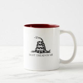 Don't Tread 1 Two-Tone Coffee Mug