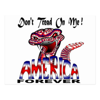 Dont Tread Forever Postcard