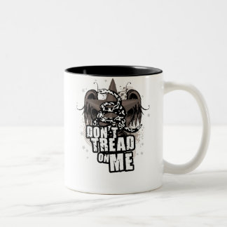 Dont Tread On Me :: $17.95 Two Toned Coffee Mug