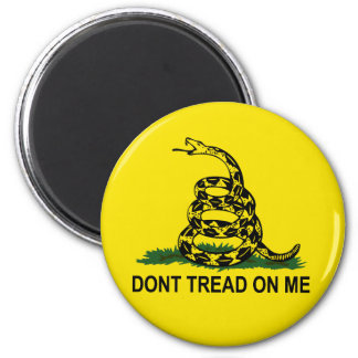 Dont Tread On Me 2 Inch Round Magnet