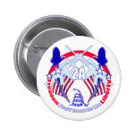 Dont tread on me 2A Pinback Button