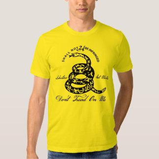 Don't Tread On Me 2nd Amendment T Shirt