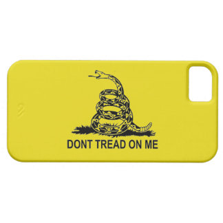 DON'T TREAD ON ME 2ND AMENDMENT UNITED STATES iPhone 5 CASES