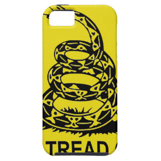 DON'T TREAD ON ME 2ND AMENDMENT UNITED STATES iPhone SE/5/5s CASE