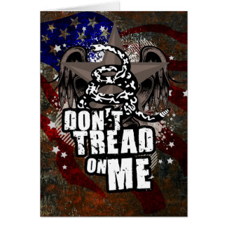 Dont Tread On Me 3 95 Greeting Card