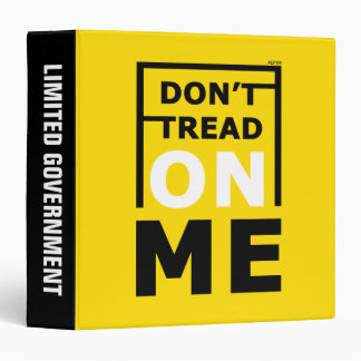 Don't Tread On Me 3 Ring Binder