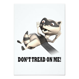 Dont Tread On Me 5x7 Paper Invitation Card