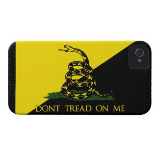 Dont Tread On Me Anarchist Flag Blackberry Cases