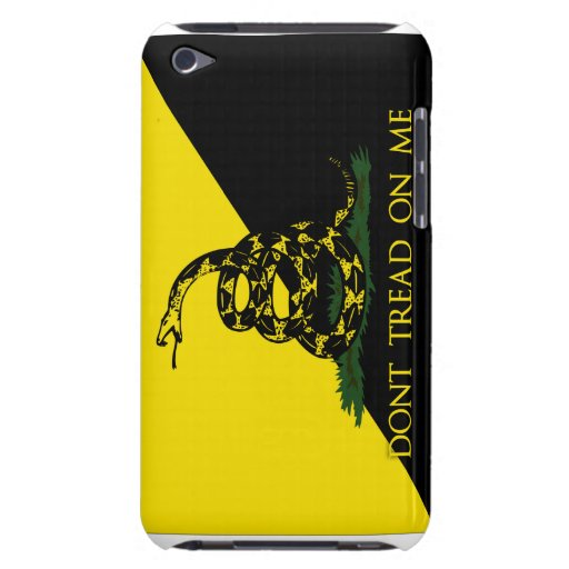 Dont Tread On Me Anarchist Flag iPod Touch Cover