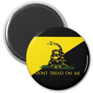 Dont Tread On Me Anarchist Flag Refrigerator Magnet