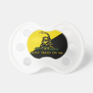 Dont Tread On Me Anarchist Flag Pacifiers