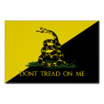 Dont Tread On Me Anarchist Flag Posters