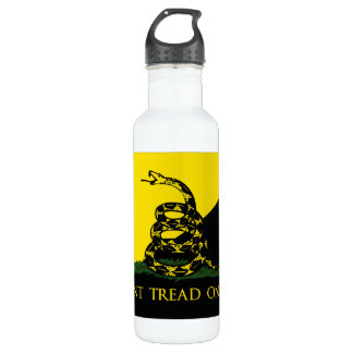 Dont Tread On Me Anarchist Flag Stainless Steel Water Bottle