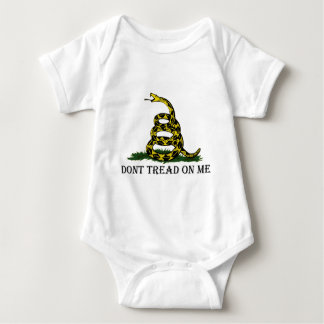 Dont Tread On Me Baby Bodysuit