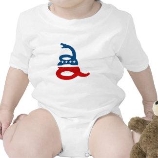 Don't tread on me baby bodysuits