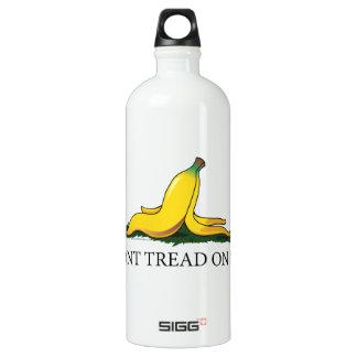 Don't Tread On Me Bananna Aluminum Water Bottle