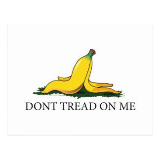 Don't Tread On Me Bananna Postcard