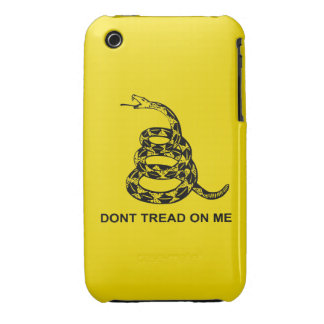 Don't Tread On Me Barely There™ iPhone 3 iPhone 3 Covers