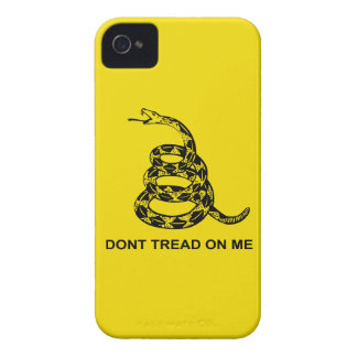 Don't Tread On Me Barely There™ iPhone 4 iPhone 4 Case-Mate Case