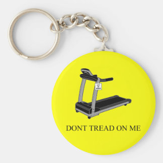 Dont Tread On Me Basic Round Button Keychain