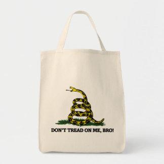 Don't Tread on me Bro Canvas Bag