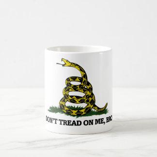Don't Tread on me Bro Classic White Coffee Mug