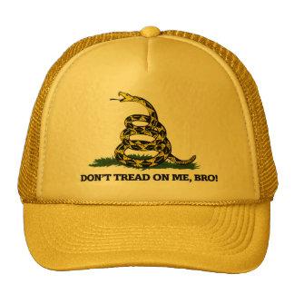 Don't Tread on me Bro Trucker Hat
