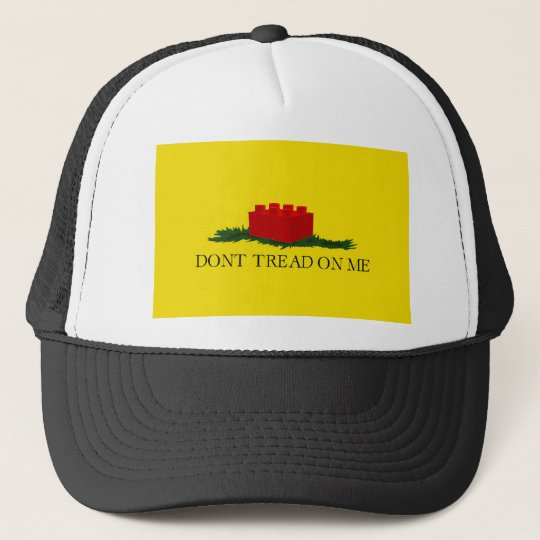 Don't Tread on Me (building block version) Trucker Hat